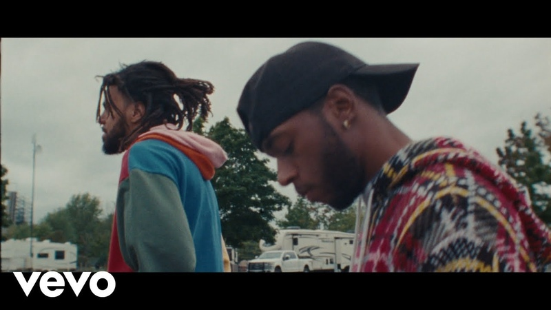 6LACK Pretty Little Fears ft J Cole Official Music Video HHH