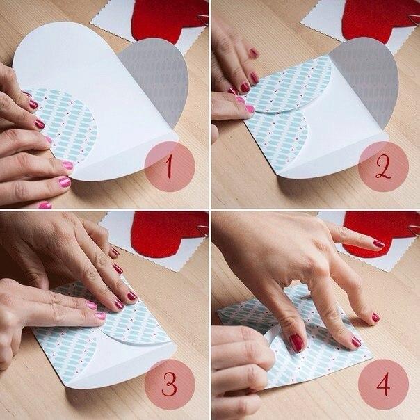 Как делать конверты своими руками фото