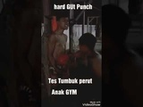 Hard GUt Punch street fighter latihan tes otot perut six pack anak GYM muaythai
