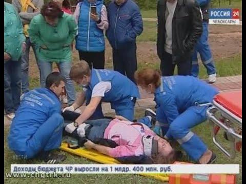 В Чебоксарском районе состязались в мастерстве специалисты скорой и неотложной помощи республики