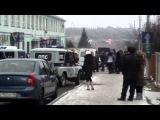 Пожар на Центральном рынке г.Губкин 04.01.2014г.