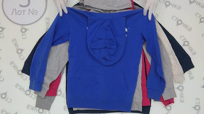Sweatshirt with hood 3,секонд хенд одежда оптом
