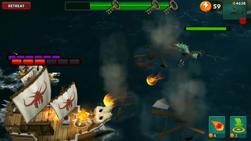 Defending Berk with Grapple Grounder - VS Fleet 35 - Dragons_Rise of Berk
