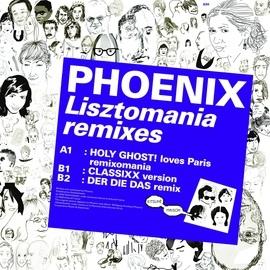 Phoenix альбом Kitsuné: Lisztomania Remixes - EP