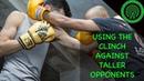 Тайский бокс использование клинча против высокого соперника