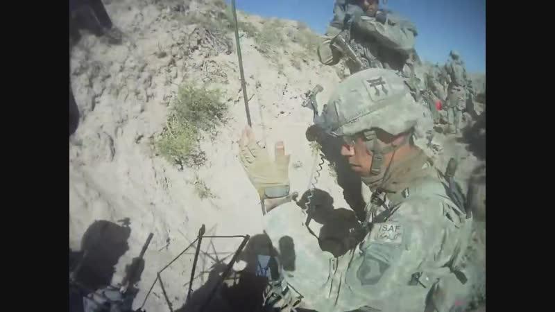 Один день войны в Афганистане от рядового Троя Мартинека