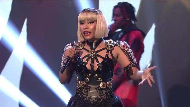 Выступление Playboi Carti и Nicki Minaj с треком Poke It Out на шоу SNL НШ