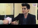 Интервью с Adam Lambert - Европа Плюс