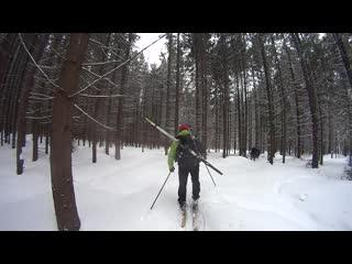 Лыжная ПВДшка