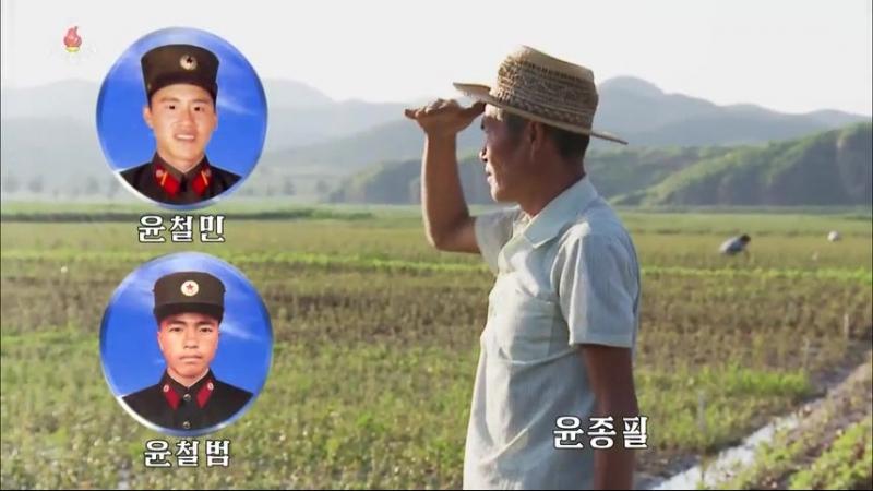 황금산의 씨앗이 움터나는 고장 -연탄군 금봉과수묘목농장 후방가족들-