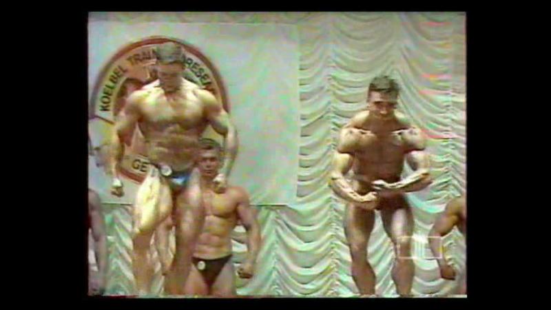 Чемпионат России NABBA 1997