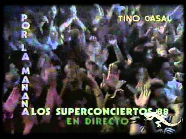 Tino Casal en los Superconciertos TVE 1988 1ª Parte