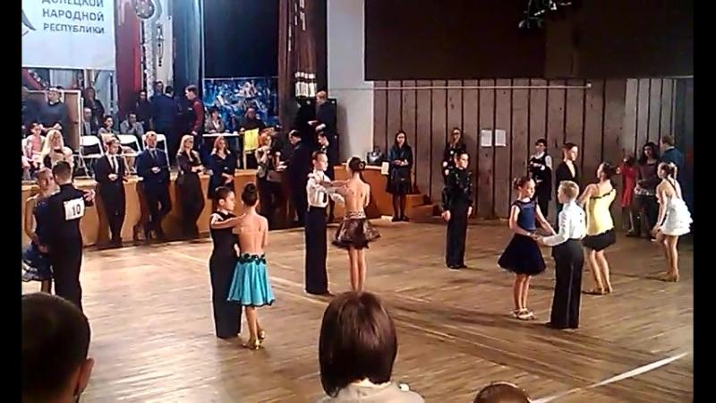 Турнир по бальным танцам Пролисок 2018 ФИНАЛ Латина ча ча ча и джайв