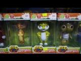 Музыкальные игрушки Лео и Тиг, поют песню на русском языке, 290 руб.