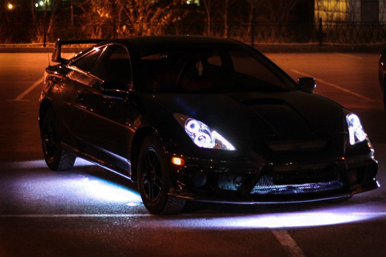 Подсветка автомобилей