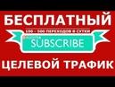 бесплатный целевой трафик на ваш сайт