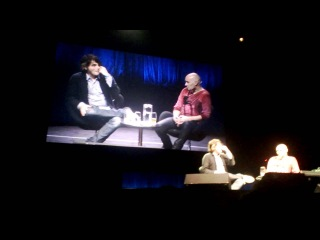 Gerard Way and Grant Morrison - Graphic Festival @Sydney Opera House 5/10/13