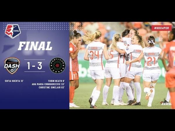 Highlights: Houston Dash vs. Portland Thorns FC | June 22, 2018