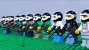 Lego Paintball Battle