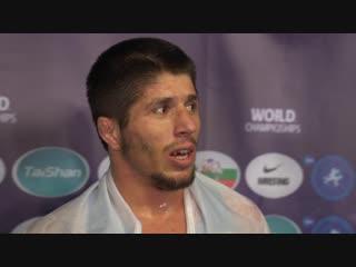 Магомедрасул Газимагомедов: «Это самый сильный был соперник из всех, с кем я боролся на этом чемпионате»