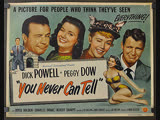 You Never Can Tell (1951) Dick Powell, Peggy Dow, Joyce Holden