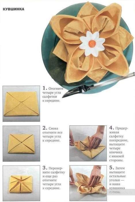 5 способов красиво сложить
