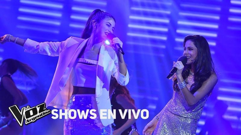 Tini y Juliana Gallipoliti cantan Quiero volver - La Voz Argentina 2018