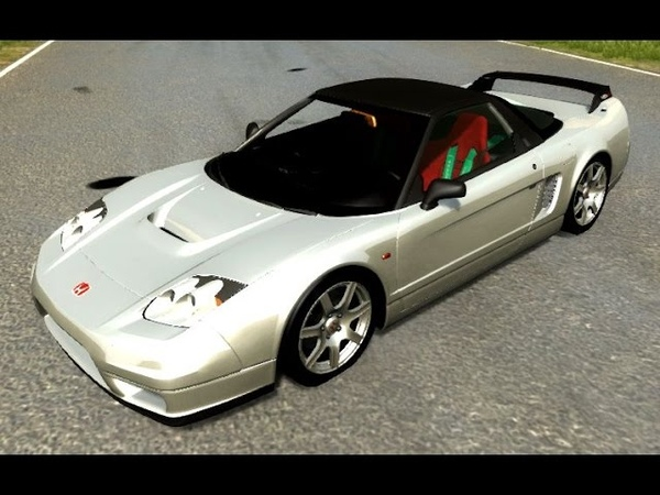 BeamNG.Drive Mod Honda NSX-R (Crash test)