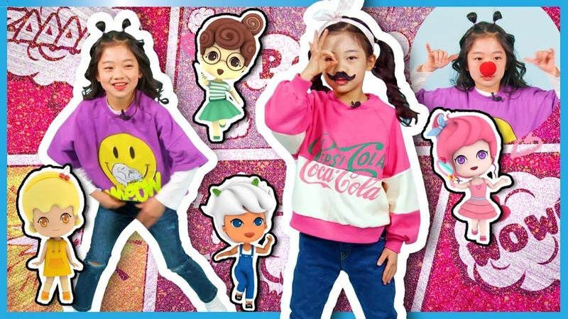 K-POP 랜덤 플레이 댄스 도전 모음☆K-POP Random Play Dance Challenge Collection☆꿈꾸는 요정 팅글리랑 어썸하