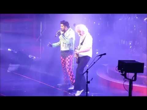Queen Adam Lambert - Don´t Stop Me Now / Bicycle Race - Oslo 180617