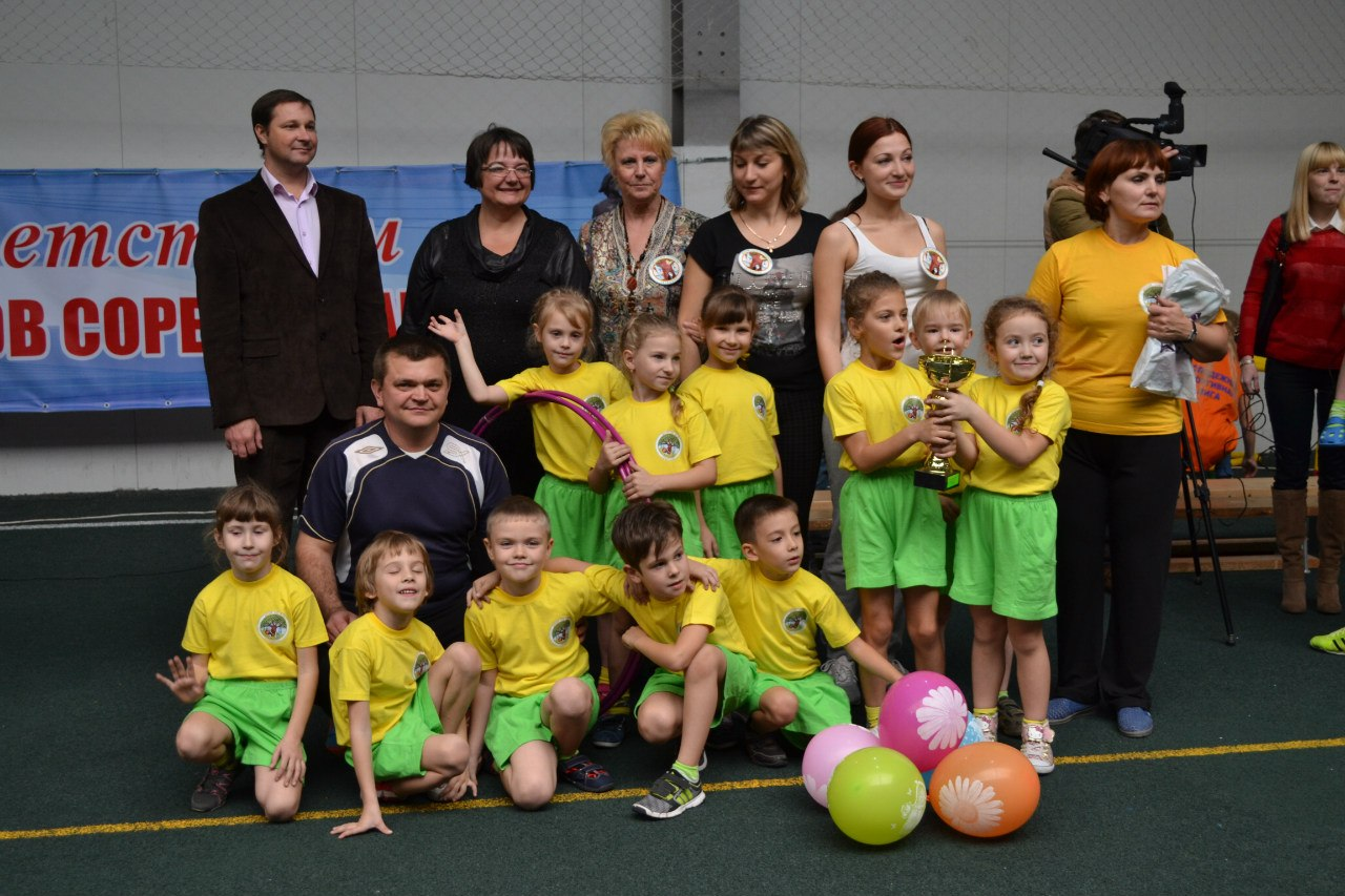 В Таганроге состоялись «Веселые старты»