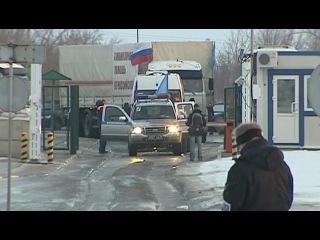 Вести.Ru: Грузовики МЧС России прибыли в Луганск и Макеевку