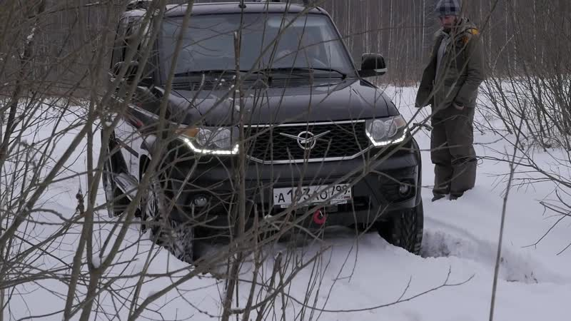 УАЗ Патриот и Jeep Renegade против русского бездорожья