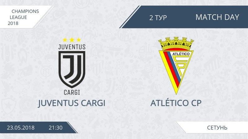 AFL18. Champions League. Group D. Day 2. Juventus Cargi - Atletico CP