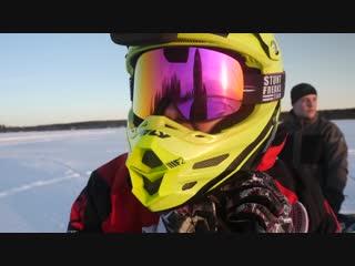 [Stunt Freaks Team] 700cc 2 stroke Zabel Dirt Bike - Test Ride