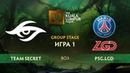 Team Secret vs PSG.LGD карта 1, The Kuala Lumpur Major Плей-офф