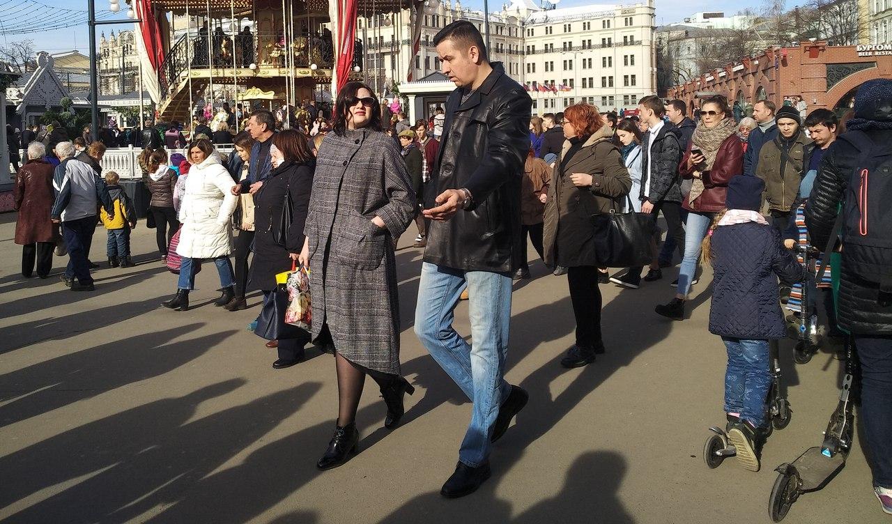 Пасха в центре Москвы: а был ли праздник...