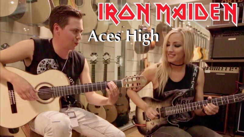 Aces High Iron Maiden Thomas Zwijsen ft Nita Strauss at TGU18