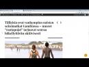 Tuomari Mirja Korjakoff afrofani ja puolueellinen kc TyI UYyQ