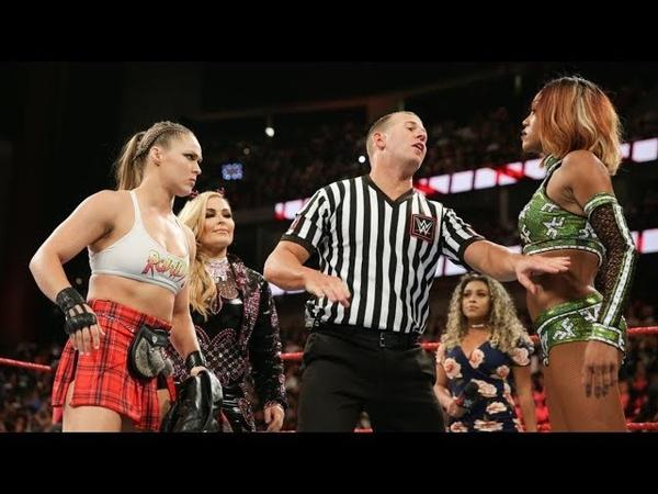 Full Match Ronda Rousey vs Alicia Fox Raw Aug 6 2018