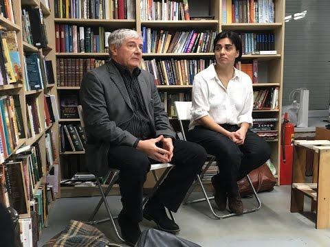 Заседание Кафедры литературной премии им А.Пятигорского с А.Филипповым