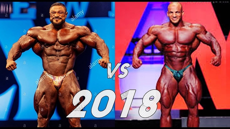 ROELLY WINKLAAR VS BIG RAMY - Mr. OLYMPIA 2018