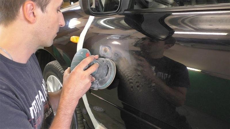 Как удалить рыжики и покрасить авто полный цикл работ LADA GRANTA