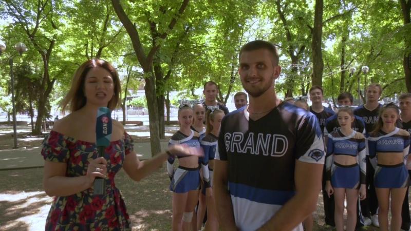 Сборная ДГТУ по чирлидингу Гранд - чир микс - на Дон24