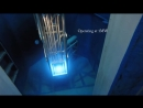 Запуск ядерного реактора в различных режимах мощности Свечение Черенкова