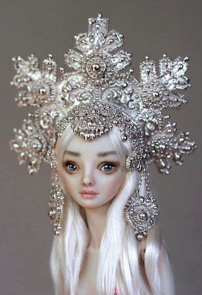 Чарующие куклы Марины Бычковой
