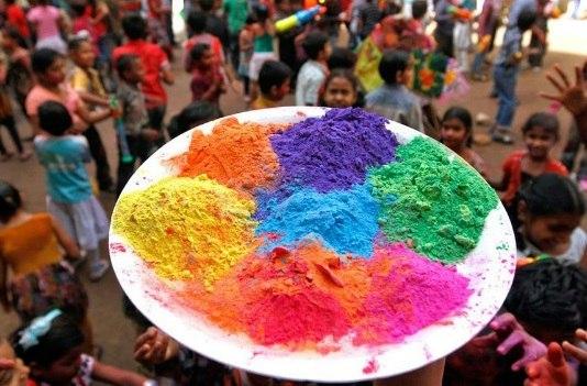 Индийские краски холи оптом и в