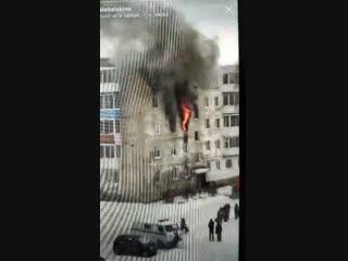 В Нижней Салде сгорела квартира, в которой меняли газовый кран