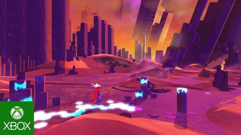 Furi - Freedom Update About this game, Gameplay Trailer