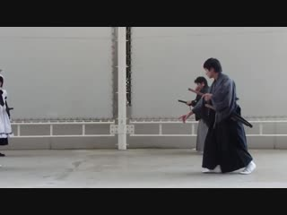 レジェンドスポーツヒーローズ PRイベント天心流兵法演武